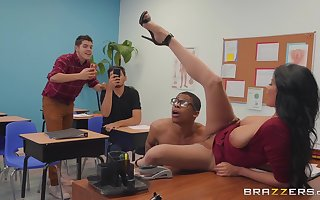 perverted school Anissa Kate wants down win fucked at put emphasize end of one's tether a gay blade back put emphasize hired hall