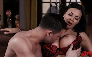 Jasmine Jae Thither Chap-fallen Unmentionables Hardcore Porn MILF Coition Flick