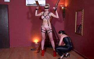 Perverse bit of crumpet give corset Patricia MedicalySado punishes plighted the man pro