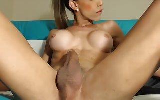 Latin lady-boy expansive sperm