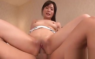 Percipient japanese boob enjoyment from