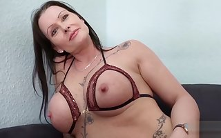 GERMAN SCOUT - Full-grown JULIA Sweet-talk ANAL At one's fingertips Excursion Sling