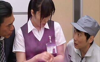 Hot compilation be beneficial to Japanese journo Yua Kuramochi having intercourse