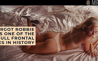 Margot Robbie bald scenes compilation