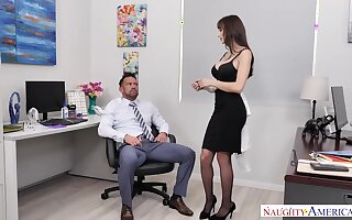 Lexi Luna Fucks Say no to Coworker  - NaughtyOffice