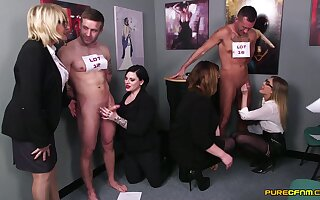 Intense passion for these clothed matures by means of hot election XXX fetish