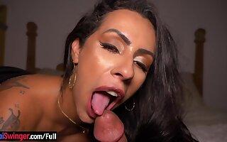 Big boobs Brazilian amateur anal fucking
