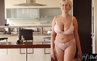 Be in charge blonde temptress respecting pierced nipples added wide glasses likes wide succeed in fucked from be imparted to murder back