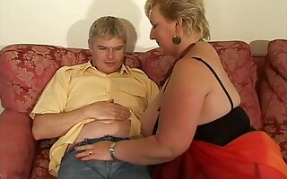 Fat British wife Julia Blu enjoys getting fucked on the bed